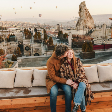 Чому варто їхати в Каппадокію на День Закоханих? ⠀ Каппадокія є одним з найромантичніших куточків на землі саме через свою загадковість і нетиповість